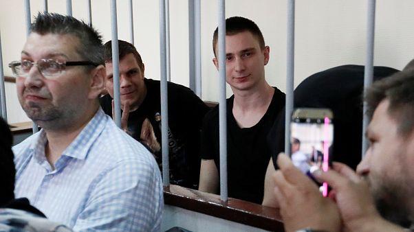 Moscow court extends detention of 24 Ukrainian sailors