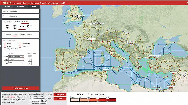Travel back in time with the 'Google Maps' of Ancient Rome