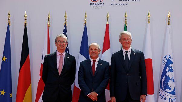 Совещание G7: цифровой налог и криптовалюты