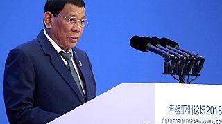 دوتيرتي: لن أُحاكم أو أمثل أمام محكمة إلا في الفلبين