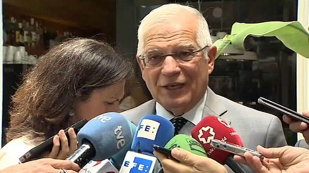 Borrell sintoniza con Von der Leyen