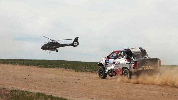 Perfect performance as Nasser Al-Attiyah wins 2019 Silk Way Rally