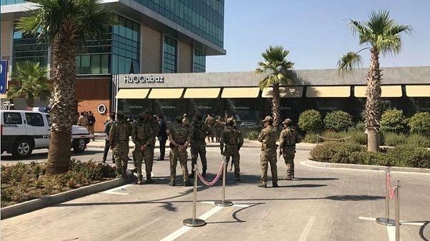 کشته شدن دستکم یک کارمند کنسولگری ترکیه در تیراندازی در اربیل عراق