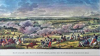 600 Meter hinter Waterloo-Front: Rätsel um rostige Kanonenkugel
