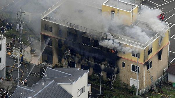 ژاپن؛ آتش سوزی در یک استودیویی پویانمایی