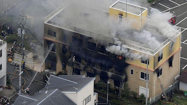 سقوط قتلى وجرحى في حريق باستوديو لأفلام الرسوم المتحركة باليابان