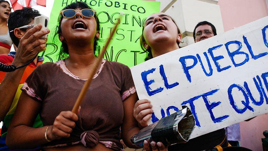 Proteste in Puerto Rico - Stars fordern Rücktritt der Regierung