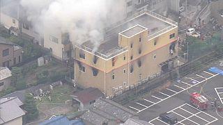 Incêndio criminoso em estúdio de animação de Quioto