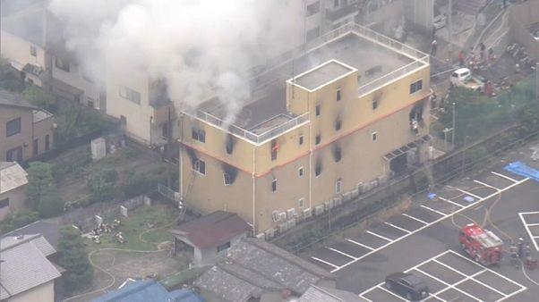 Decenas de muertos por un incendio en un estudio de animación japonés
