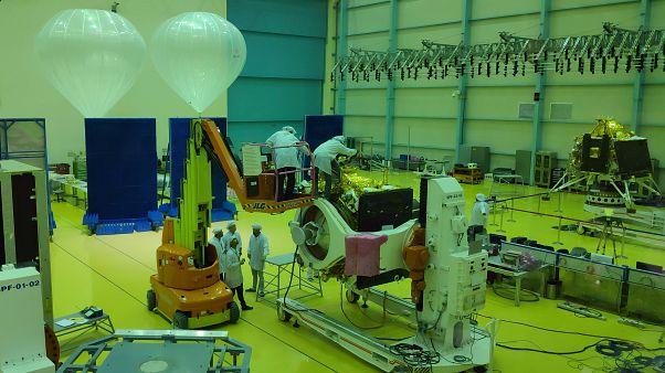 منظمة أبحاث الفضاء الهندية في بنغالورو