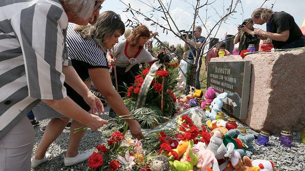 A maláj utasszállító lelövésének 5. évfordulóján tartottak megemlékezést Ukrajnában