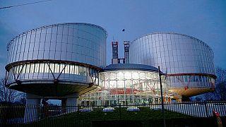 El edificio del Tribunal Europeo de Derechos Humanos en Estrasburgo.