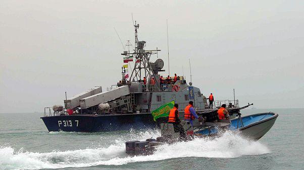 Irán apresa un petrolero extranjero sospechoso de contrabando