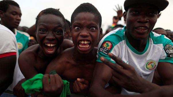 "Tifosi del Senegal ""leggermente"" scatenati."