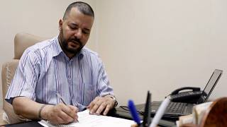 Mounir Baatour, head of Tunisia's Liberal Party and LGBT rights group, Shams