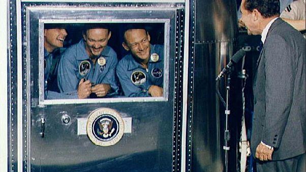50 Jahre Mond-Landung: Die Rede, die Nixon (zum Glück) nie halten musste