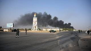 دهها نفر در حمله طالبان به فرماندهی پلیس قندهار کشته و زخمی شدند