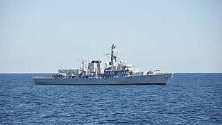 سفينة حربية تابعة للبحرية الأمريكية (أرشيف)