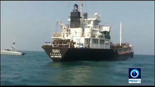 Видео захвата танкера Ираном