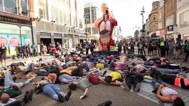 """""""Protest-Sommer"""" in Großbritannien? Klima-Aktivisten wollen Städte lahmlegen"""