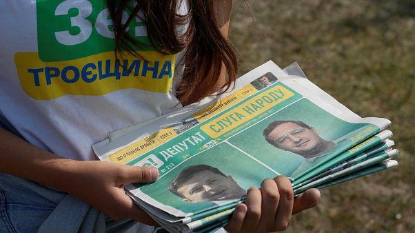 Législatives en Ukraine : Volodymyr Zelensky veut tourner définitivement la page