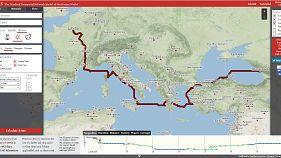 Виртуальное путешествие по Европе времён Римской империи
