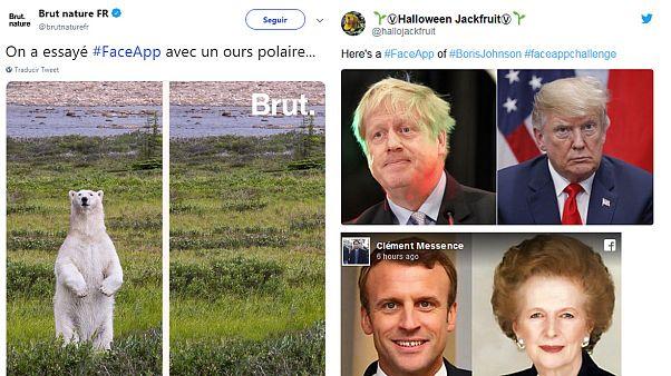 FaceApp, una fuente inagotable de memes políticos