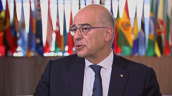 Yunanistan Dışişleri Bakanı Dendias: Türkiye'nin S-400 almasından rahatsızız