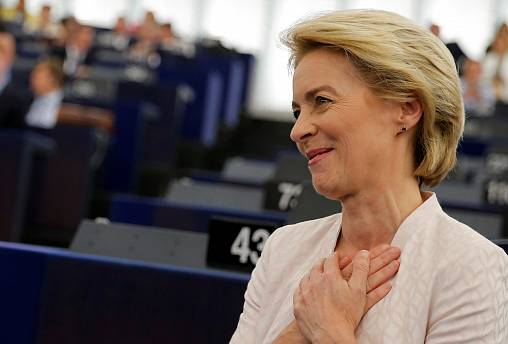 """State of the Union : Ursula von der Leyen se dit """"heureuse et soulagée"""""""