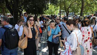 Grecia: forte scossa di terremoto, nessun danno all'Acropoli
