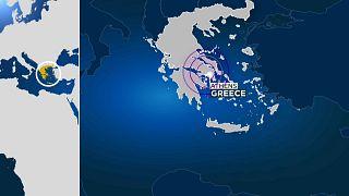 Землетрясение магнитудой 5,1 в Афинах