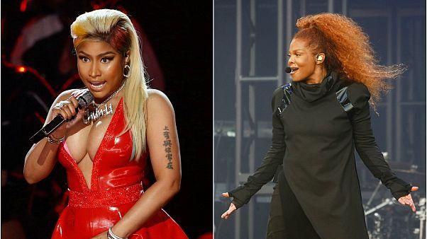 Nicki Minaj'ın iptal ettiği Suudi Arabistan konserinde Janet Jackson sahne aldı