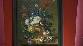 'Vase of Flowers' : Germany returns painting stolen by the Nazis to the Uffizi Gallery