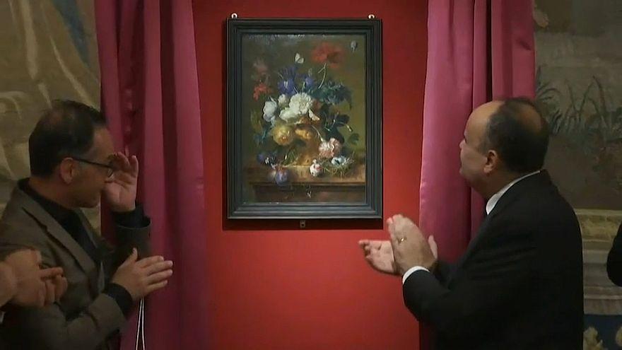 Alemania devuelve a Italia una pintura robada por un soldado nazi