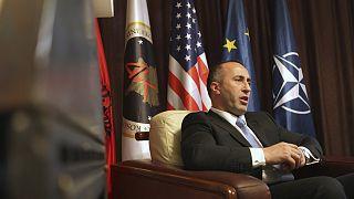 Savaş suçu işlemekle suçlanan Kosova Başbakanı Ramush Haradinaj görevinden istifa etti