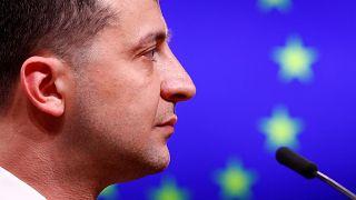 El presidentede Ucrania, Volodímir Zelenski