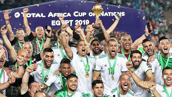 Argélia campeã de África de futebol
