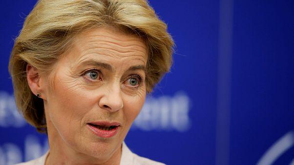 Elected European Commission President Ursula von der Leyen