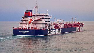 ناقلة النفط ستينا إيمبيرو التي احتجزتها إيران اليوم