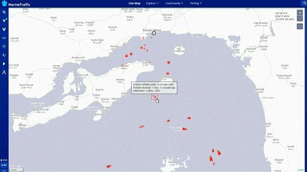 Navi nel Golfo di Hormuz