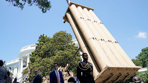 منظومة ثاد الدفاعية لاعتراض الصواريخ من لوكهيد مارتن