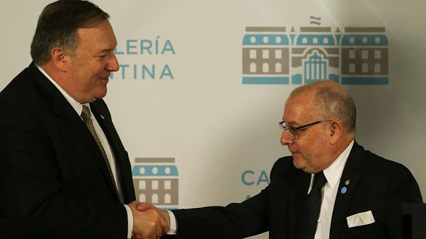 ABD Dışişleri Bakanı Pompeo ve Arjantin Dışişleri Bakanı Faurie