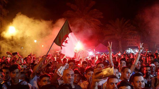 قهرمانی الجزایر در جام ملتهای آفریقا؛ جشن شبانه هواداران