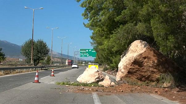 Erdbeben bei Athen: Die Kraft der Stöße