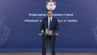 Serbiens Präsident Vucic misstraut dem Rücktritt Haradinajs