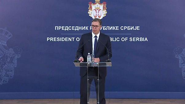 Belgrád szerint politikai trükk a koszovói kormányfő lemondása