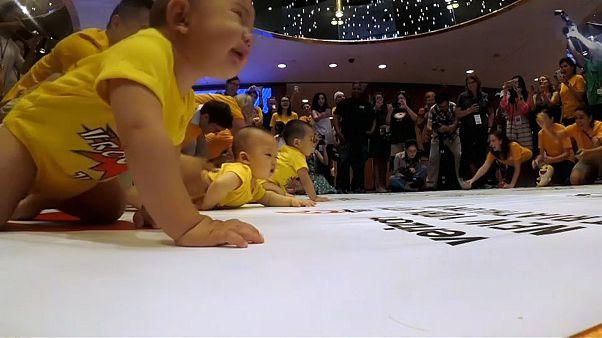 A New York, une course pour les bébés âgés de plus de 6 mois