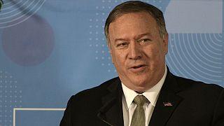 مایک پمپئو: ظریف درباره پهپاد ایرانی یا چیزی نمیدانست یا دروغ میگفت
