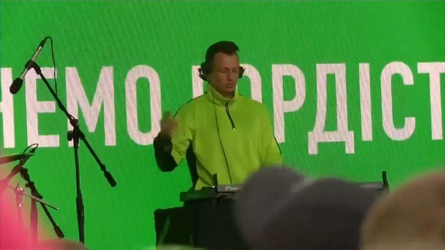 Változást szeretnének az ukrán szavazók