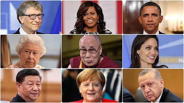 Michelle Obama'dan Aziz Sancar'a; en çok hayranlık duyulanlar listesi